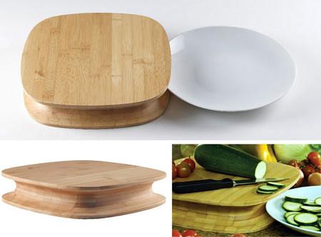 Удобная выемка, чтобы подставить тарелку