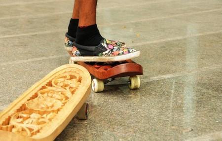 Скейтборд как арт-объект от Тобиаса Мегерле — фото 7