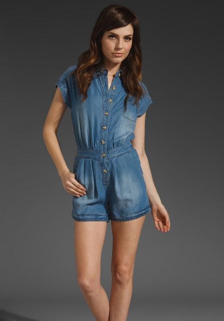 Модные комбинезоны лета 2012 — фото 18