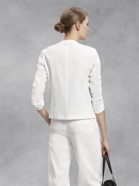 Лето в городе - белый жакет от DKNY — фото 3