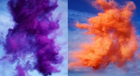 Рукотворные цветные облака от Роба и Никки Картер — фото 5