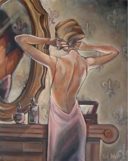 Красота спины в замен красоте лица