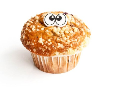 Еда, которая «строит глазки» с наклейками Edible eyes — фото 5