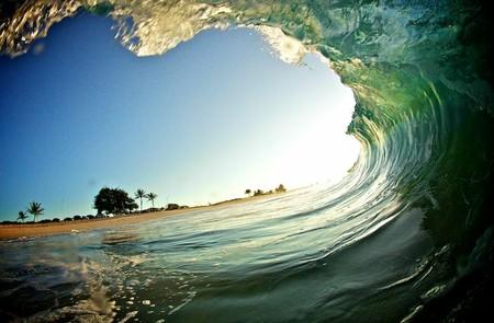 Фотографии Кенжи Кромана: в самом сердце океанской волны — фото 9