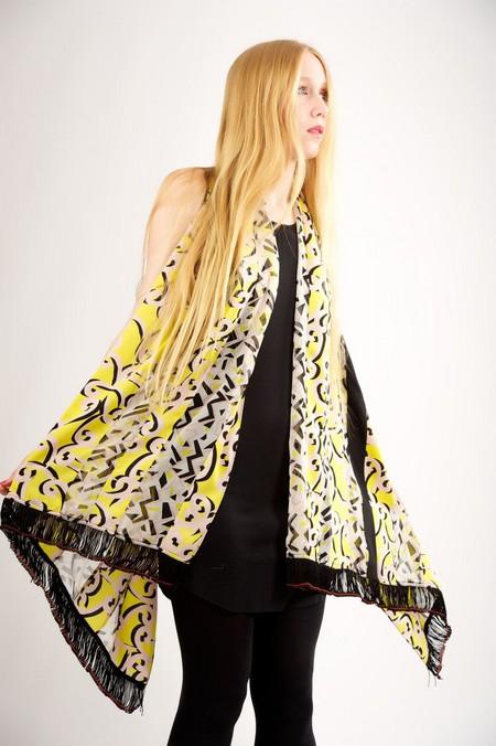 Аксессуары от королевы стиля - шарфы и платки от Diane von Furstenberg — фото 7