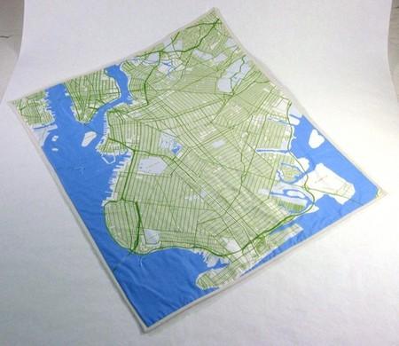 В незнакомом городе поможет одеяло? Проект Soft Maps – текстильные карты. — фото 3