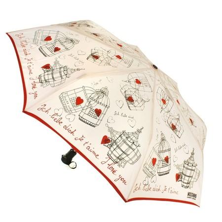 Нескучные зонты от  Moschino Cheap & Chic — фото 13