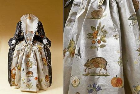 Старинные платья из бумаги от Изабель де Боршграв — фото 1