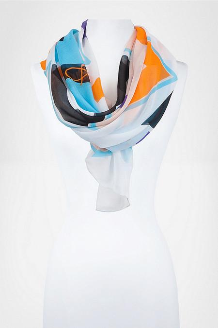 Аксессуары от королевы стиля - шарфы и платки от Diane von Furstenberg — фото 13