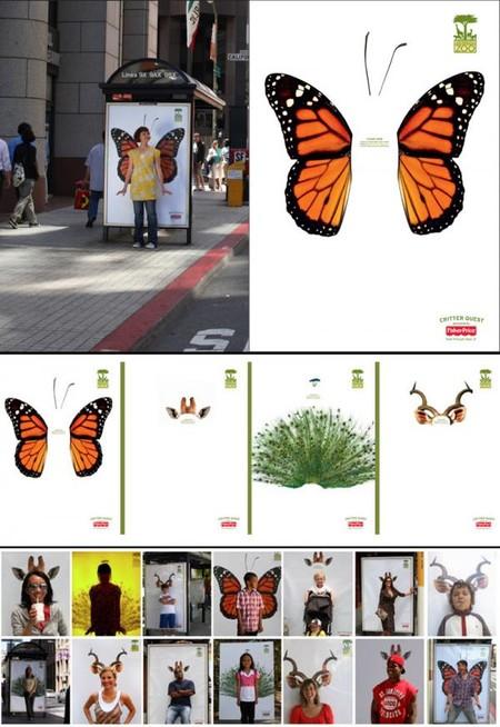 Реклама зоопарка Сан Франциско: можно сфотографироваться!
