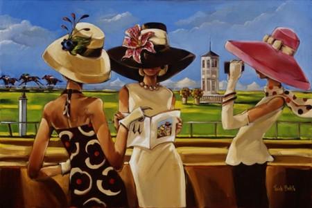 Шляпы — излюбленный прием художницы для сокрытия женских лиц