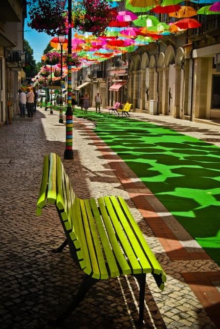 """Инсталляция """"Umbrella Sky"""": небо, зонтики и яркие краски! — фото 4"""