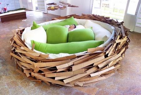 Креативный диван-гнездо от O*GE Creative Group — фото 3