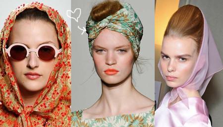 Нескромные косынки - модный тренд лета 2012 — фото 1
