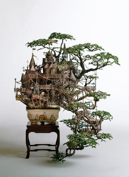 Бонсай от Таканори Аиба: восточное искусство миниатюрного сада, доведенное до совершенства. — фото 9
