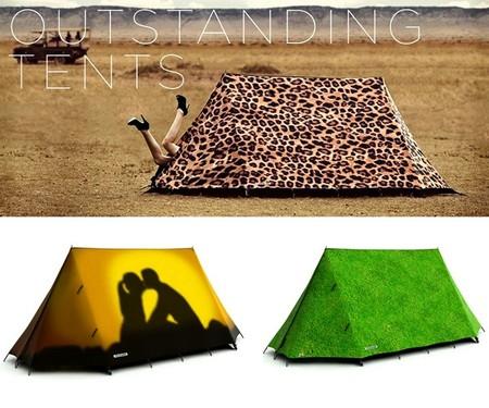 Для креативных туристов: необычные палатки от Field Candy — фото 4
