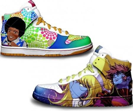 Расписные кроссовки от Даниэля Риза — фото 1