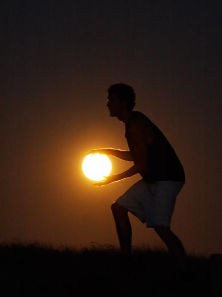 Лунный баскетбол