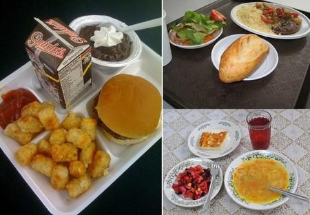 Обед школьника в США, России и Франции