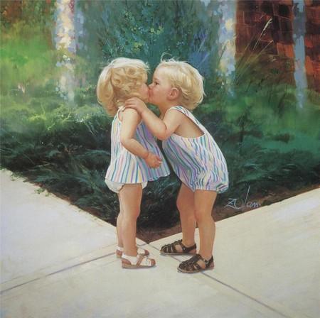 Очарование детства в творчестве Дональда Золана — фото 14