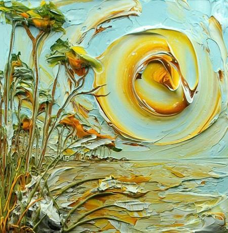 Необычные объемные картины Джастина Геффри — фото 13