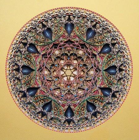 Филигранные работы из картона от Эрика Стэндли — фото 10