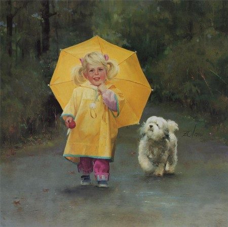 Очарование детства в творчестве Дональда Золана — фото 15