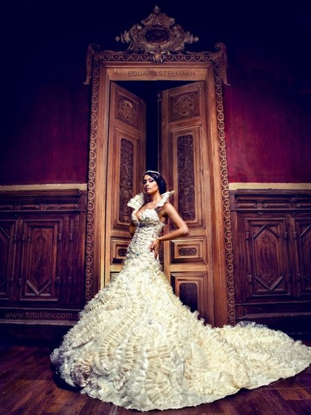 Оригинальные свадебные фотографии Эдуарда Стельмаха — фото 9