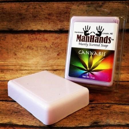 мыло с ароматом марихуаны