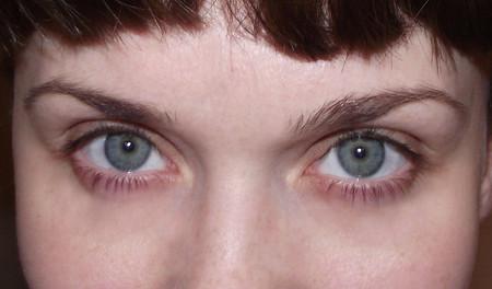 Это глаза без какого-либо макияжа