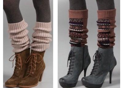 Замечательный способ превратить ботинки в сапоги!