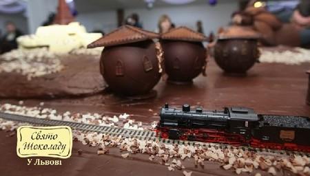 Праздник Шоколада во Львове - рай для сладкоежек — фото 17