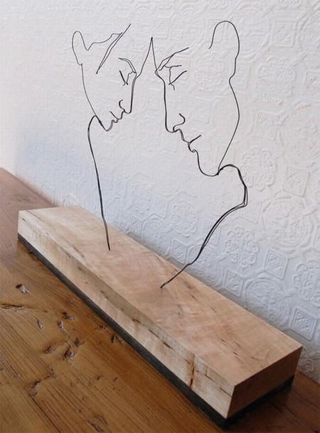 Проволочные скульптуры Гевина Ворта — фото 2