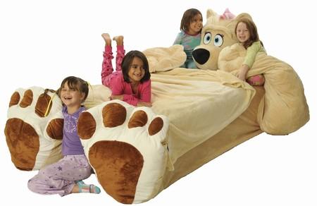 Забавные детские кровати от студии Incredibeds Bedjammies — фото 1