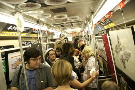 Музей в метро пользуется популярностью. Особенно в час-пик :-)