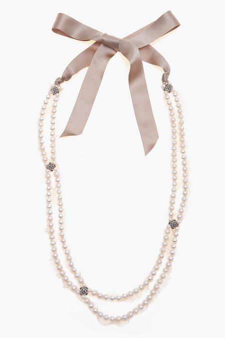 Нежное ожерелье и при этом очень оригинальное