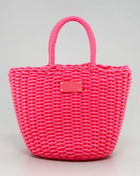 Яркие сумки-плетенки для лета 2013 — фото 2