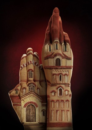 Бодиарт для рук в рекламной кампании Ecclesiastical Insurance — фото 6