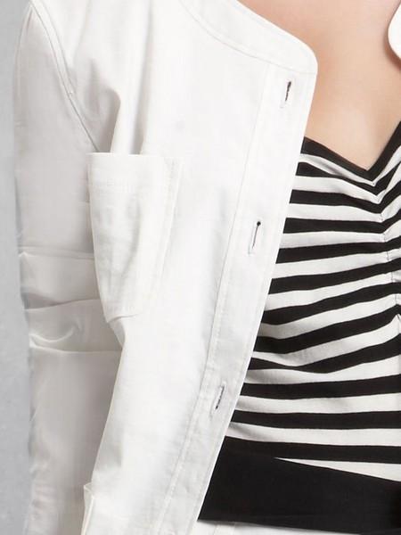 Лето в городе - белый жакет от DKNY — фото 2