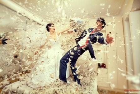 Оригинальные свадебные фотографии Эдуарда Стельмаха — фото 4