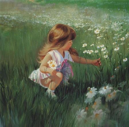 Очарование детства в творчестве Дональда Золана — фото 13