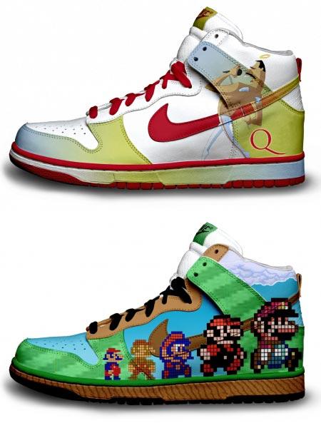 Расписные кроссовки от Даниэля Риза — фото 3