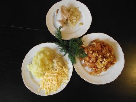 Масленица обязывает :-) Фаршированные блинчики: с капустой, курицей, картошкой и творогом — фото 3