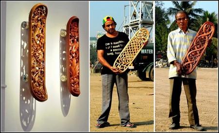 Скейтборд как арт-объект от Тобиаса Мегерле — фото 10