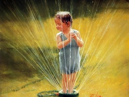 Очарование детства в творчестве Дональда Золана — фото 2