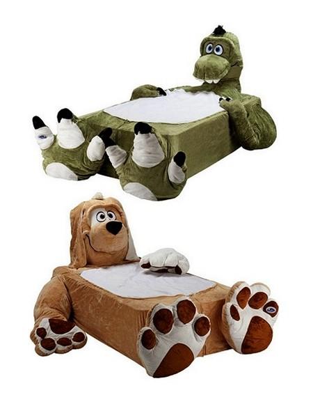 Забавные детские кровати от студии Incredibeds Bedjammies — фото 3