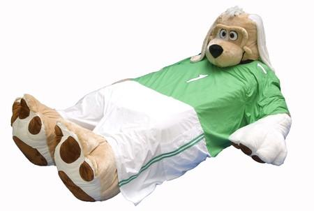 Среди предлагаемых вариантов постельного белья — футбольная форма