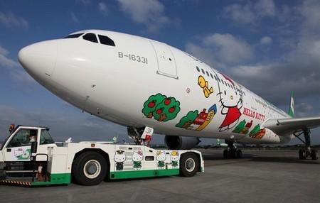 Лайнер Hello Kitty, приводящий в восторг тайваньских пассажиров. — фото 9
