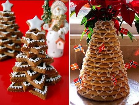 Новогодний декор для праздничных угощений — фото 7