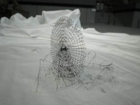 Скульптуры из ниток от японского художника  Takahiro Iwasaki — фото 4